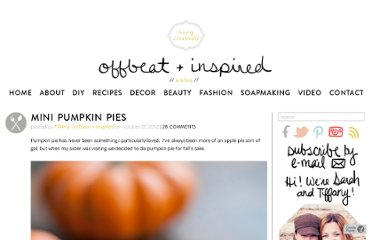 http://offbeatandinspired.com/2012/10/22/mini-pumpkin-pies/