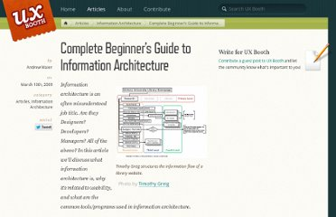 http://www.uxbooth.com/blog/complete-beginners-guide-to-information-architecture/