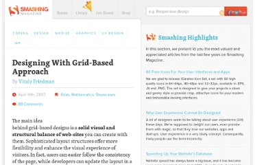 http://www.smashingmagazine.com/2007/04/14/designing-with-grid-based-approach/