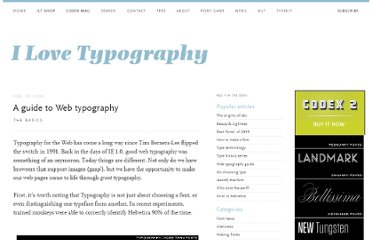 http://ilovetypography.com/2008/02/28/a-guide-to-web-typography/