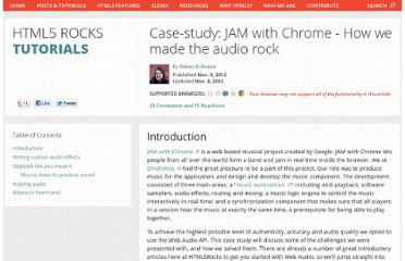 http://www.html5rocks.com/en/tutorials/casestudies/jamwithchrome-audio/