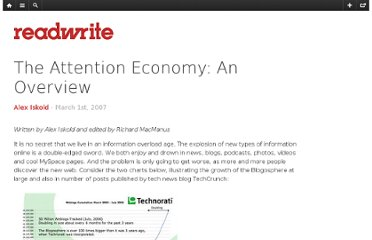 http://readwrite.com/2007/03/01/attention_economy_overview