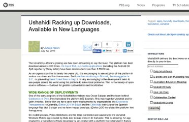 http://www.pbs.org/idealab/2010/07/ushahidi-racking-up-downloads-available-in-new-languages193.html