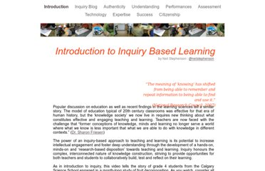 http://teachinquiry.com/index/Introduction.html