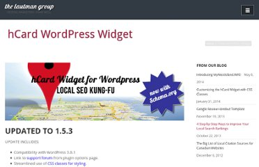 http://lautman.ca/hcard-wordpress-widget/