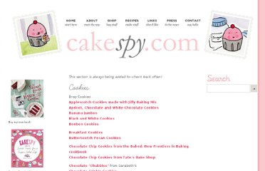 http://www.cakespy.com/recipes