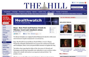 http://thehill.com/blogs/healthwatch/other/267853-reps-to-obama-dont-interfere-with-states-on-marijuana