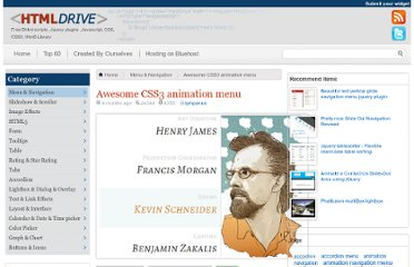 http://www.htmldrive.net/items/show/1177/-Awesome-CSS3-animation-menu