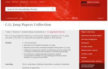 http://www.library.ethz.ch/en/Resources/Archival-holdings-documentations/C.G.-Jung-Papers-Collection