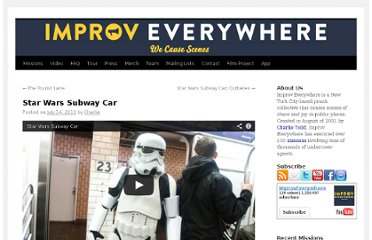 http://improveverywhere.com/2010/07/14/star-wars-subway-car/