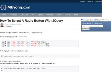 http://www.mkyong.com/jquery/how-to-select-a-radio-button-with-jquery/