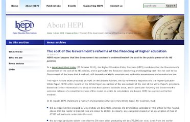 http://www.hepi.ac.uk/478-2103/The-cost-of-the-Government%27s-reforms-of-the-financing-of-higher-education.html