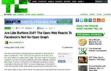 http://techcrunch.com/2010/04/23/like-buttons-evil-facebook-not-open/