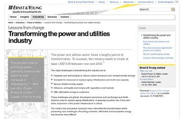 http://www.ey.com/GL/en/Industries/Power---Utilities/Lessons-from-change---Transforming-the-power-and-utilities-industry