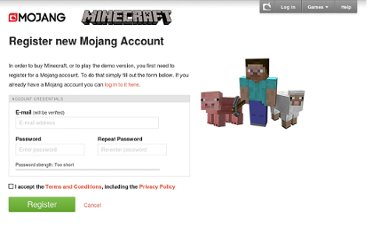 https://account.mojang.com/register?agent=minecraft