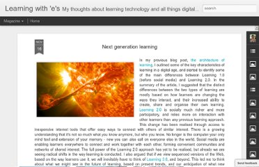 http://steve-wheeler.blogspot.com/2012/11/next-generation-learning.html