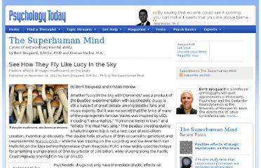 http://www.psychologytoday.com/blog/the-superhuman-mind/201211/see-how-they-fly-lucy-in-the-sky