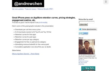 http://andrewchen.co/2009/02/19/great-iphone-preso-on-appstore-retention-curves-pricing-strategies-engagement-metrics-etc/