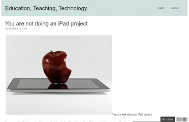 http://mattpearson.org/2012/11/16/you-are-not-doing-an-ipad-project/