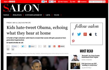 http://www.salon.com/2012/11/16/kids_hate_tweet_obama_echoing_what_they_hear_at_home/