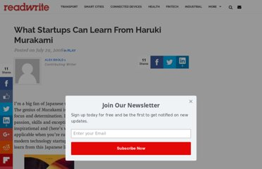 http://readwrite.com/2008/07/29/what_startups_can_learn_from_haruki_murakami