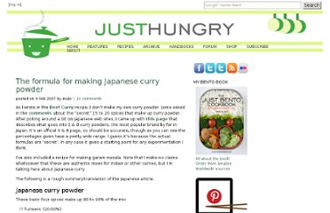 http://www.justhungry.com/formula-making-japanese-curry-powder