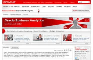 http://www.oracle.com/us/solutions/business-analytics/overview/index.html