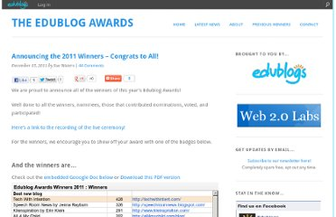 http://edublogawards.com/2011/12/15/announcing-the-2011-winners-congrats-to-all/