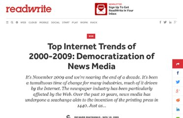 http://readwrite.com/2009/11/17/democratization_of_news_media