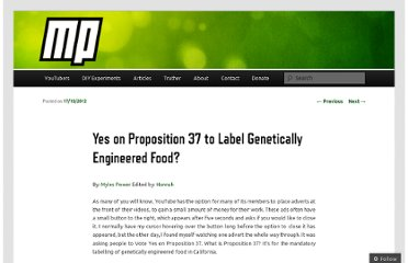 http://mylespower.co.uk/2012/10/17/yes-on-proposition-37-to-label-genetically-engineered-food/