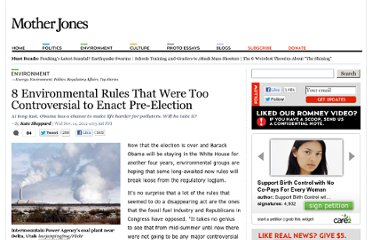 http://www.motherjones.com/environment/2012/11/8-environmental-rules-obama-should-make