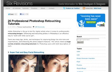 http://sixrevisions.com/photoshop/26-professional-photoshop-retouching-tutorials/