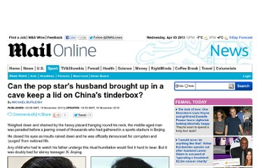 http://www.dailymail.co.uk/news/article-2235004/Xi-Jinping-Can-pop-stars-husband-brought-cave-lid-Chinas-tinderbox.html