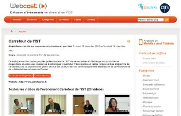 http://webcast.in2p3.fr/events-carrefour_de_l_ist
