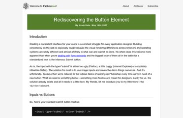 http://particletree.com/features/rediscovering-the-button-element/