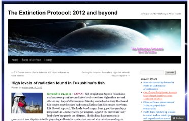 http://theextinctionprotocol.wordpress.com/2012/11/19/high-levels-of-radiation-found-in-fukushimas-fish/
