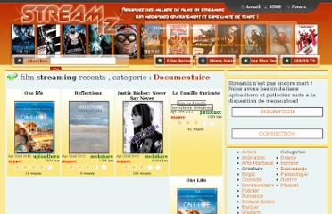 http://www.streamiz.com/film-Documentaire-streaming--page-1-lecteur-.html