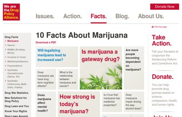 http://www.drugpolicy.org/drug-facts/10-facts-about-marijuana