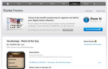 https://itunes.apple.com/gb/app/vocabology-word-of-the-day/id383809431?mt=8