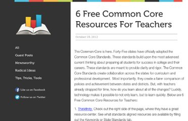 http://blog.alwaysprepped.com/common-core-resources/