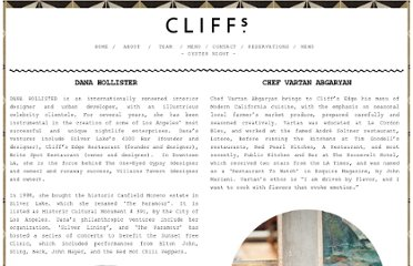 http://www.cliffsedgecafe.com/cliffsteam.html