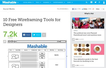 http://mashable.com/2010/07/15/wireframing-tools/