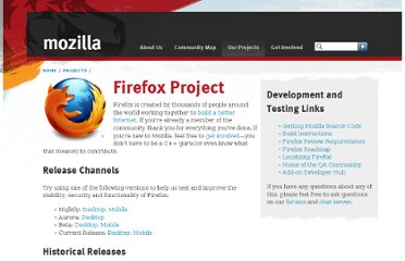 http://www.mozilla.org/projects/firefox/