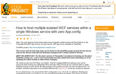 http://www.codeproject.com/Articles/165878/How-to-host-multiple-isolated-WCF-services-within