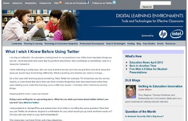 http://www.guide2digitallearning.com/tools_technologies/what_i_wish_i_knew_using_twitter