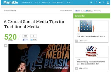 http://mashable.com/2010/07/15/social-media-tips-traditional-media/
