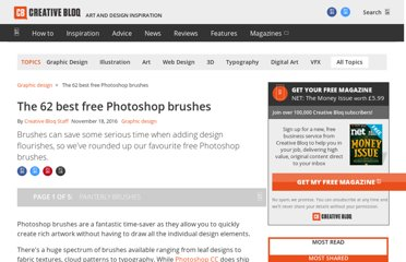 http://www.creativebloq.com/photoshop/free-photoshop-brushes-11121140