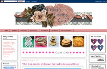 http://www.whatscookinglove.com/search?updated-max=2012-01-13T18:24:00-08:00&max-results=7&start=32&by-date=false