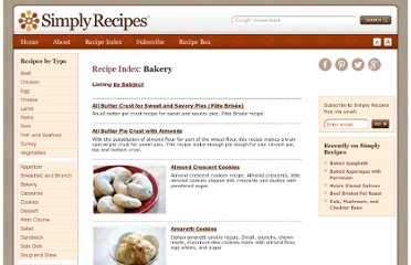http://www.simplyrecipes.com/recipes/type/bakery/