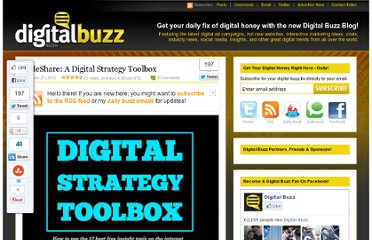 http://www.digitalbuzzblog.com/slideshare-a-digital-strategy-toolbox/